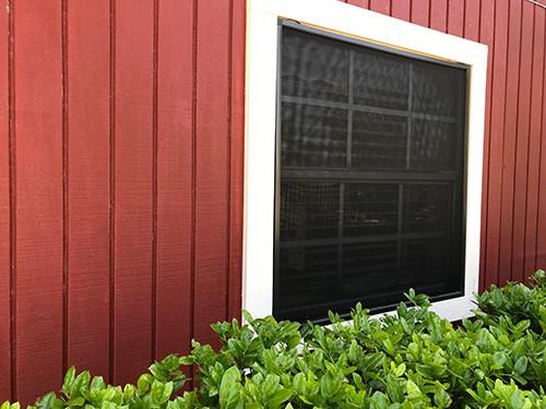 Solar Screen Installation in Granbury Texas