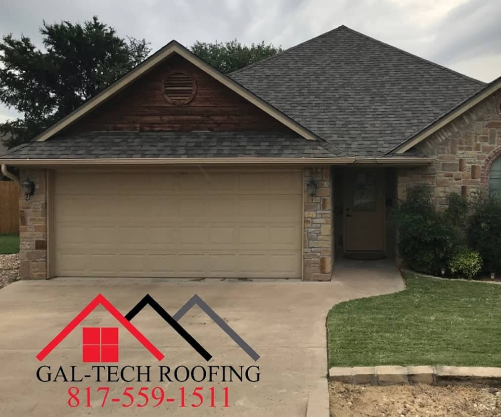 New roof installation in Weatherford, TX