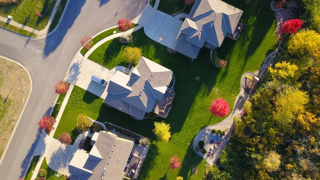 Roofs from aerial
