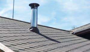 Roof vent chimney pipe granbury texas